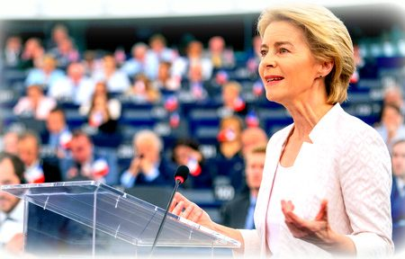 Friulian euroregionalist endorsement to von der Leyen