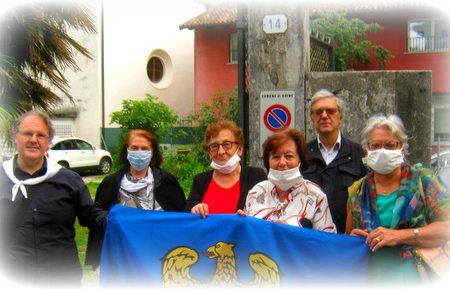 The Tristan Memorial in Udine as a memento of a Friulian non-prince